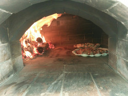 wood fired oven pizza