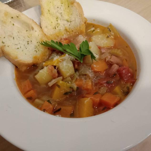 ซุปผัก minestrone