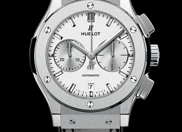 Hublot Chronograph Titanium Opalin