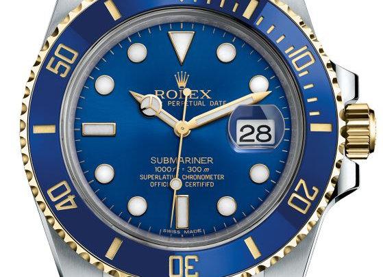 Rolex Submariner Date Or et Acier
