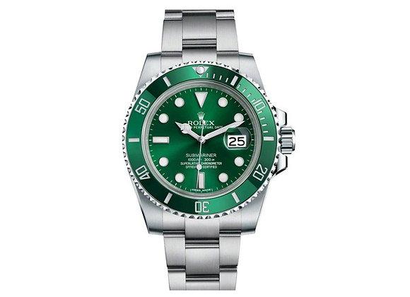 """Rolex Submariner Date """"Hulk"""""""
