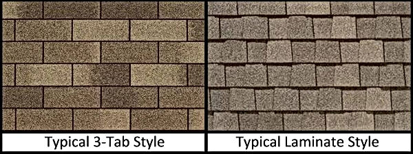 3 tab vs Architectural roofing shingles