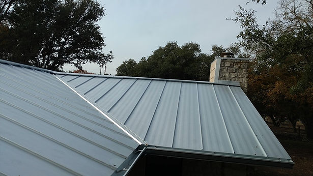 Standing seam metal roof by Mr.ROOFing & Gutters in Killeen TX