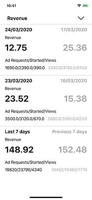 revenue check unity ads unityads ios app iphone