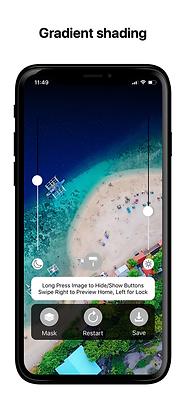 notch remover ios app wallpaper iphone