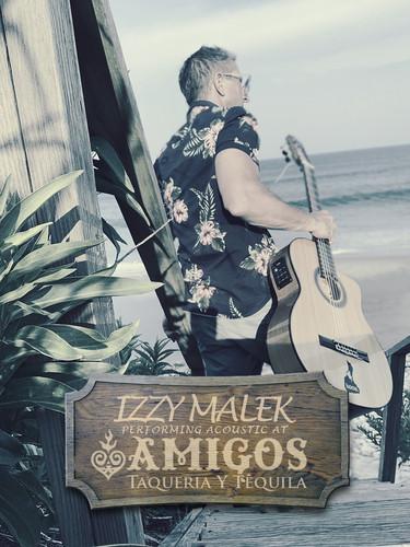 Izzy Malek Perfroming at Amigos