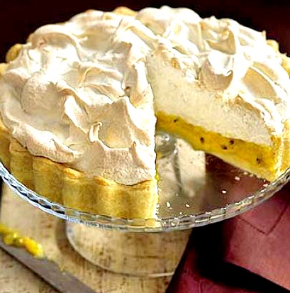 Passionfruit Pie