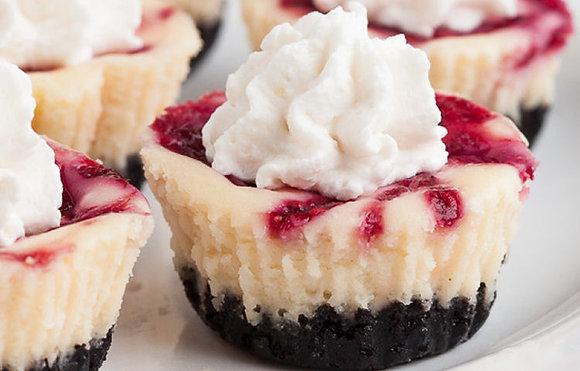White Choco Raspberry Cheesecake
