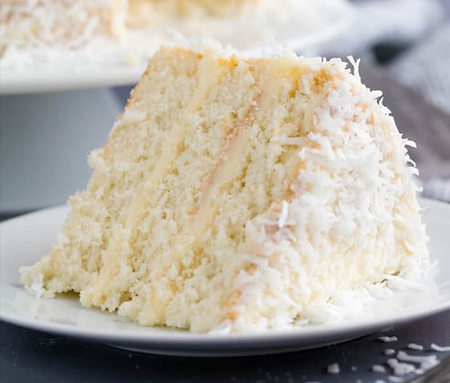 Woftam's Coconut Sponge Cake