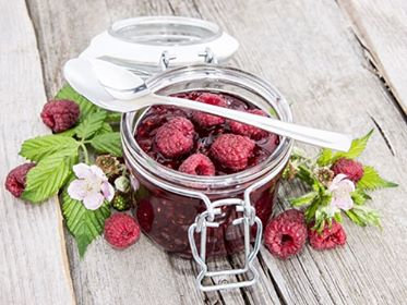 Raspberry Ice Box Jam
