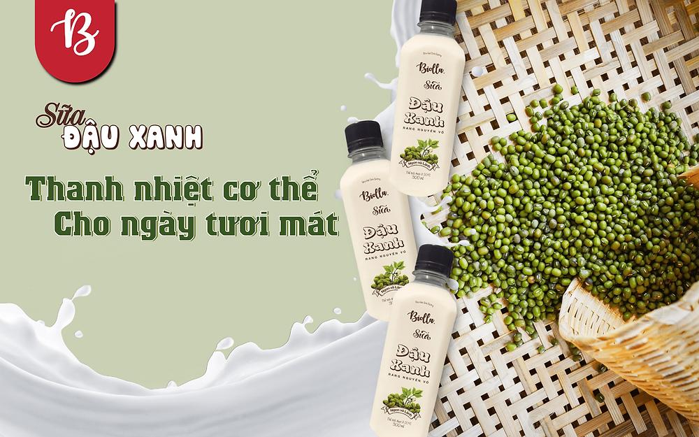 Sữa đậu xanh Biolla chứa nhiều vitamin và khoáng chất bổ dưỡng
