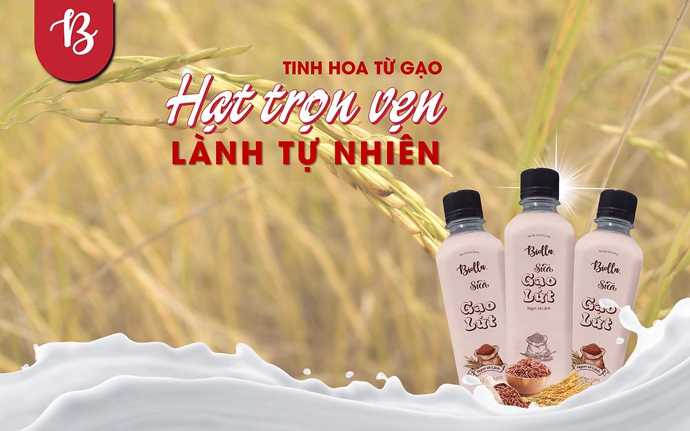 Sữa gạo lứt truyền thống