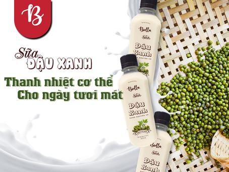 Những dưỡng chất bổ ích cho sức khỏe từ sữa đậu xanh rang nguyên vỏ