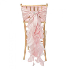 Pink Curly Willow Sash