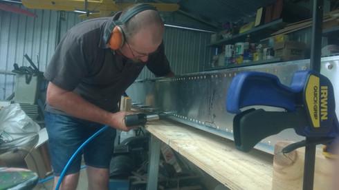 Constructing the main spar