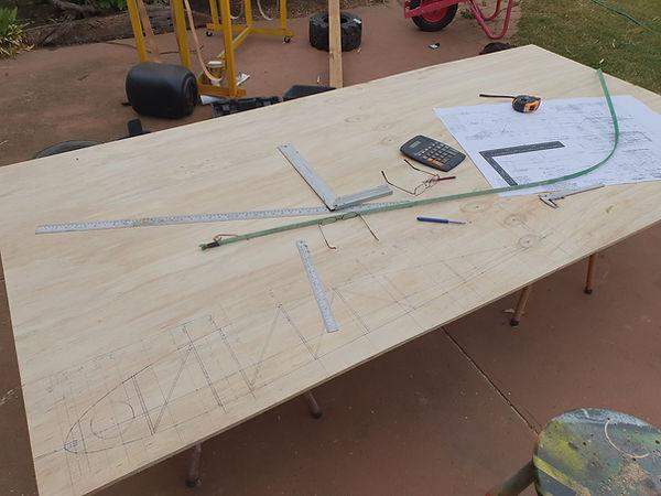 Construction of wing rib jig