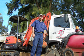 Richard with some of the equipment