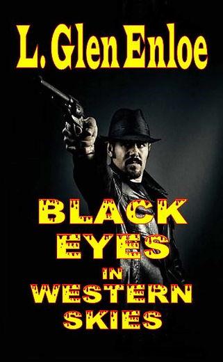 Black Eyes in Western Skies Kindle Cover