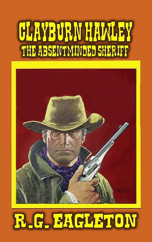 The Absentminded Sheriff Kindle Cover.JP
