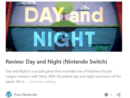 """""""Pure Nintendo"""" Reviews Day and Night!"""