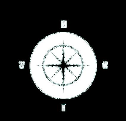 Kompass aus dem Logo zum Podcast WAS MIR WIRKLICH HILFT
