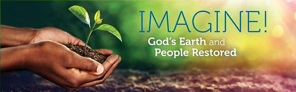 Imagine God's Earth and People Restored