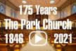 The Park Church video play icon - 175th anniversary