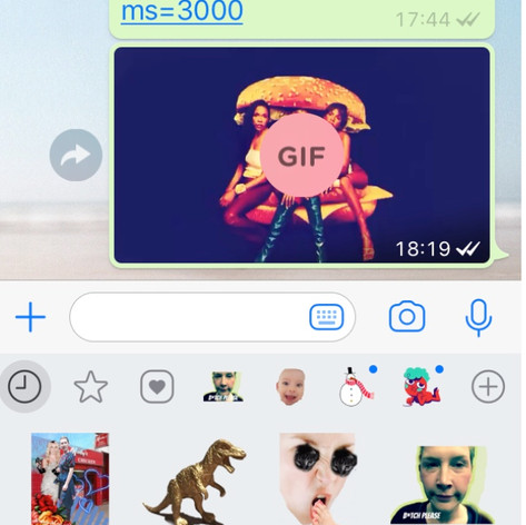 Digital Stickers/GIFs