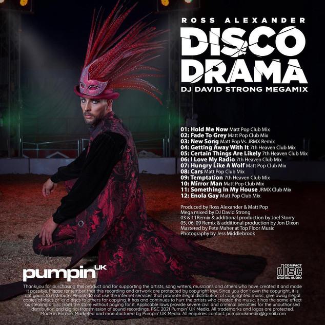 Ross Alexander - Disco Drama [David Strong Megamix] [Pumpin' UK]