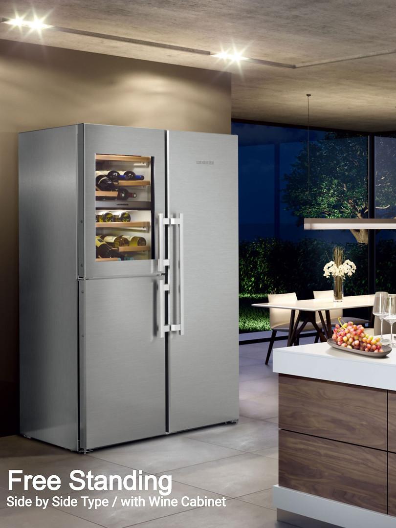 LIEBHERR フリースタンディング冷蔵庫