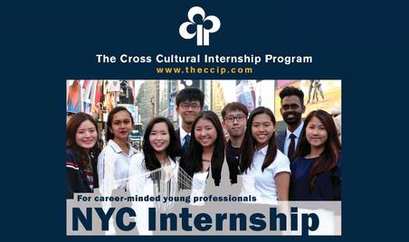 Cross Cultural Internship Program (CCIP): Summer Internship in New York City 2019