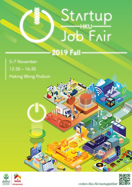 Startup Job Fair Poster _ Green _  Revis