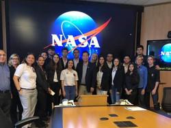 Students Visit -Nasa Ames