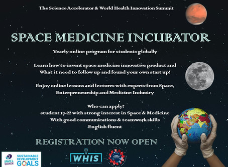 The SA & WHIS global Space Medicine Incubator