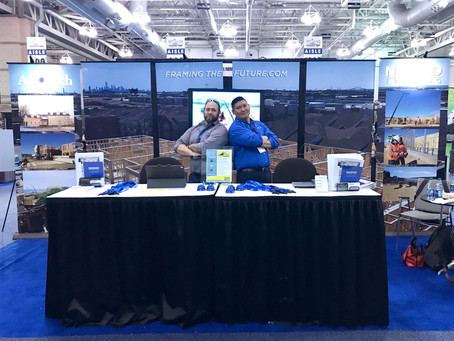 Nomad Framing at the 2020  Atlantic Builders Convention!