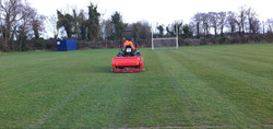 Pitch Verti-Draining