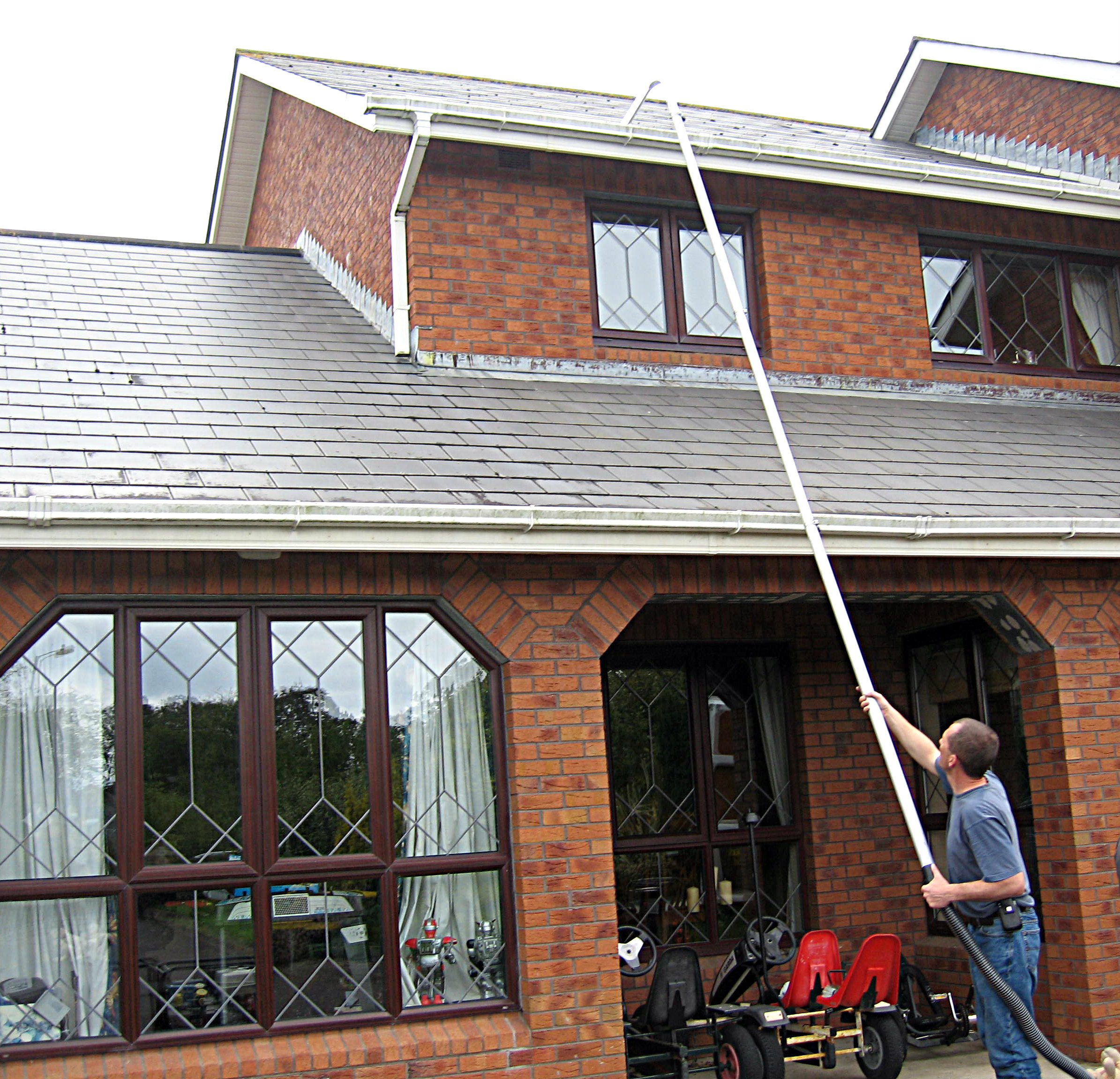 High Level Gutter Cleaning