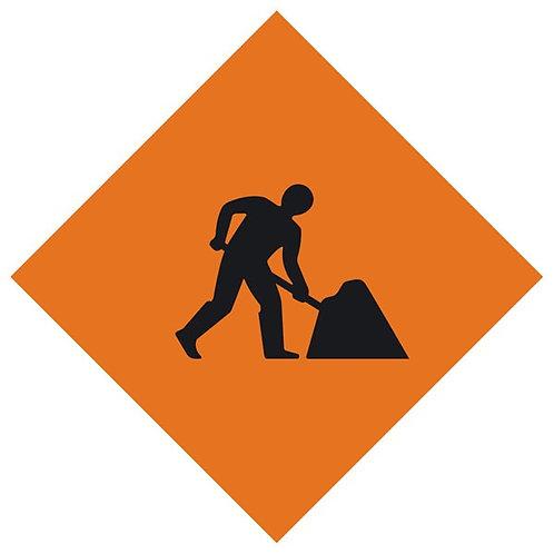 Roadworks / Men Working Danger Sign