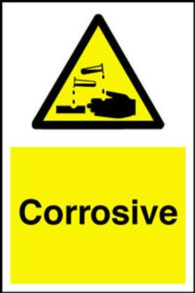 Corrosive Sign/Sticker