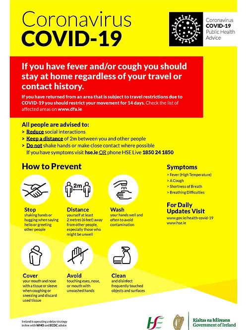 Coronavirus Covid 19 About Sign