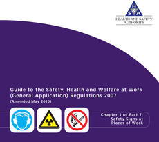 Download the HSEGuide to the Safety, Health and Welfare at Work