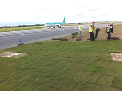 Turf Laying in Dublin Airport