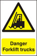 When must safety signs be used?