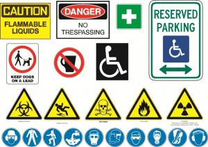 Safety Signs in the School; what and when?