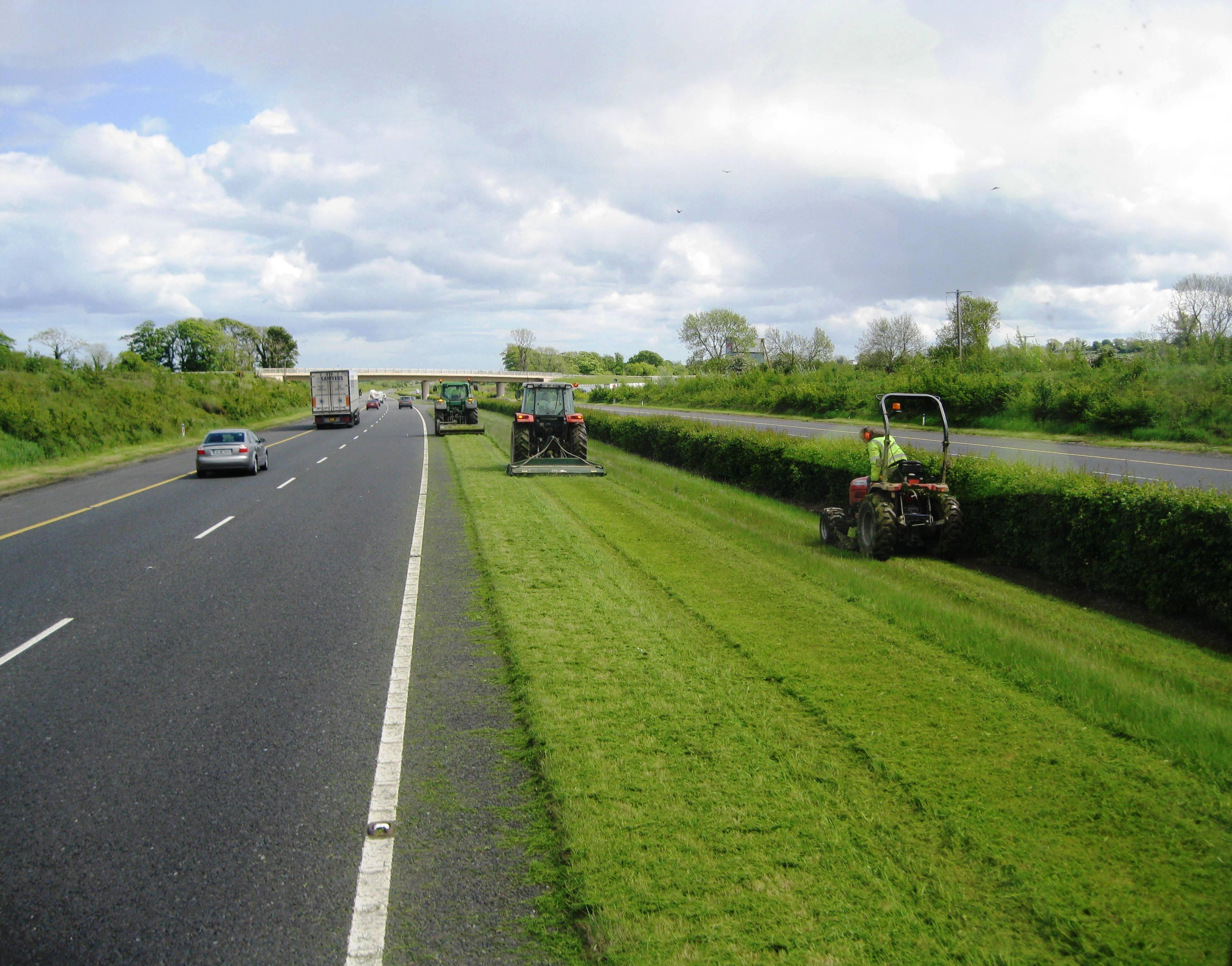 Motorway Grass Cutting