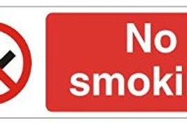 No Smoking (Small) Sign/Sticker