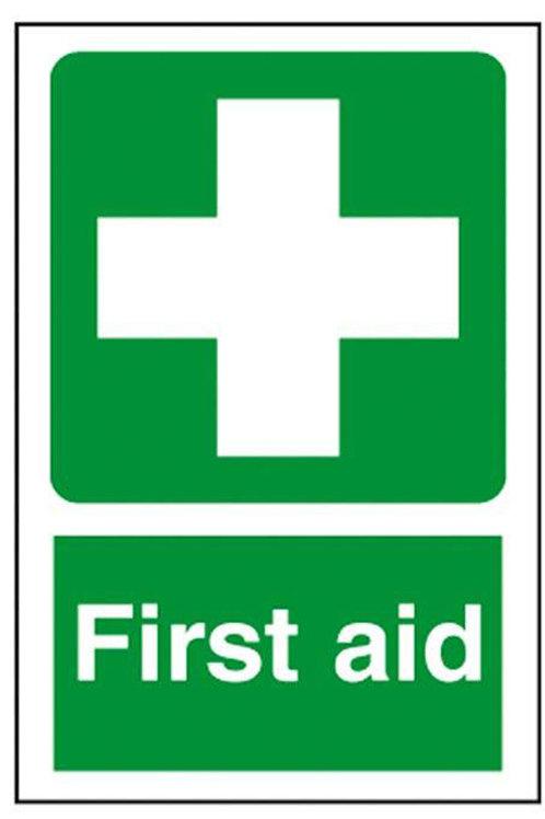 First Aid  Sign/Sticker