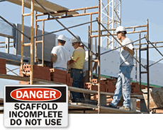 When to use safety signs