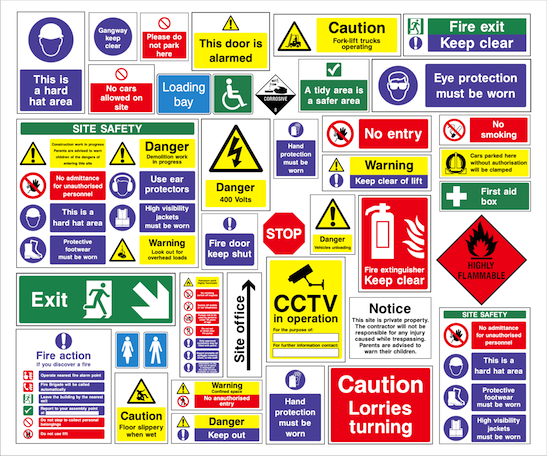 When Must Safety Signs Be Used Safety Signs Centre