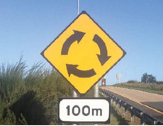 Road traffic signs and Obligatory CE markings